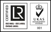 H&R 9001, 14001 & 18001+UKAS
