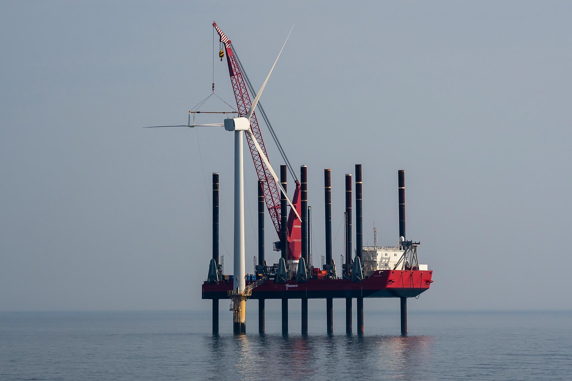 Blyth offshore wind farm banner